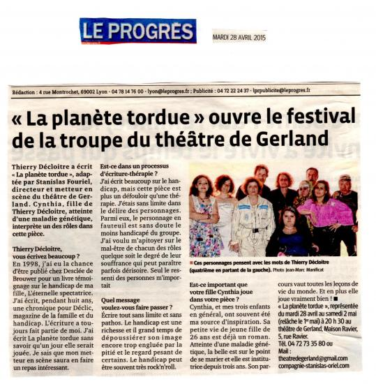 Article du 28 avril 15 le progres